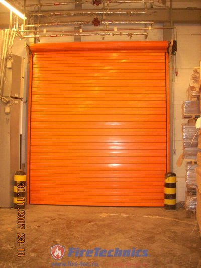 Рулонные противопожарные ворота FireRollGate EI60